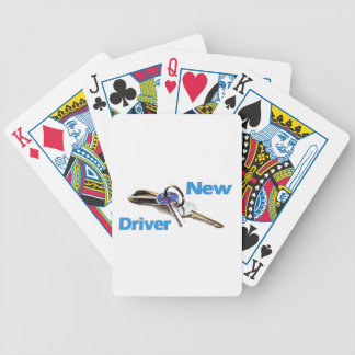 New Driver Bicycle Playing Cards