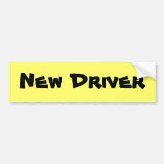 New Driver Bumper Sticker Car Bumper Sticker