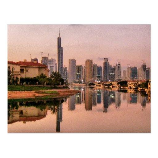 New Dubai Skyline Postcards