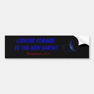 new earth car bumper sticker