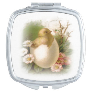 New Easter Chick Compact Mirror