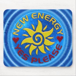 NEW ENERGY SUN - water Mousepads