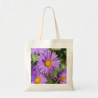 New England Aster Budget Tote