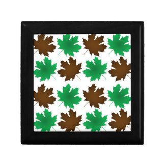 New England East Coast Autumn Leaves Trinket Boxes