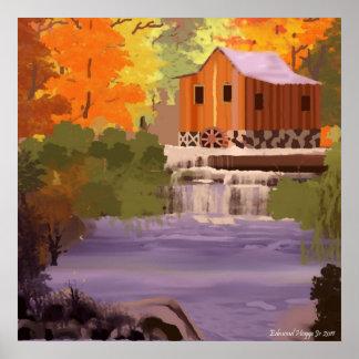 New England Fall Foliage Print