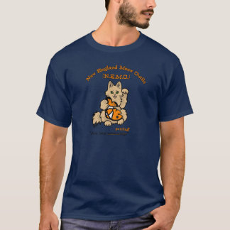 New England Meow Outfit official T-Shirt
