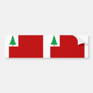 New England Pine, United States Bumper Sticker