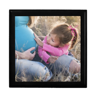 New Family Baby Large Square Gift Box