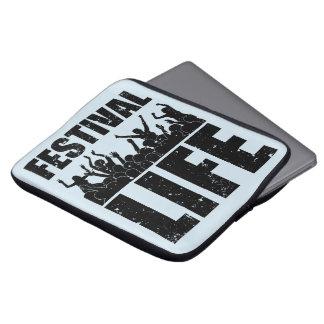 New FESTIVAL LIFE (blk) Laptop Sleeve