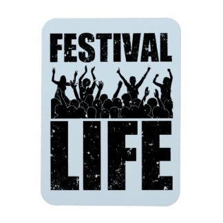 New FESTIVAL LIFE (blk) Magnet