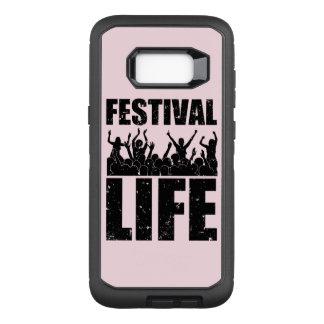 New FESTIVAL LIFE (blk) OtterBox Defender Samsung Galaxy S8+ Case