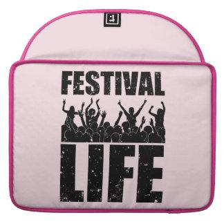 New FESTIVAL LIFE (blk) Sleeve For MacBooks