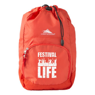 New FESTIVAL LIFE (wht) Backpack