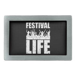 New FESTIVAL LIFE (wht) Belt Buckles