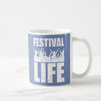 New FESTIVAL LIFE (wht) Coffee Mug