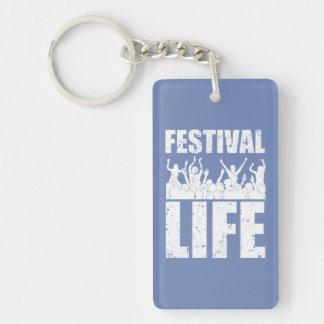 New FESTIVAL LIFE (wht) Key Ring