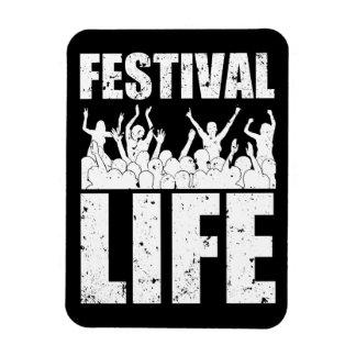 New FESTIVAL LIFE (wht) Magnet