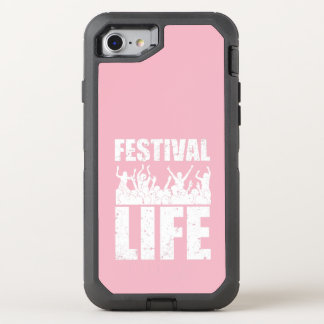 New FESTIVAL LIFE (wht) OtterBox Defender iPhone 8/7 Case