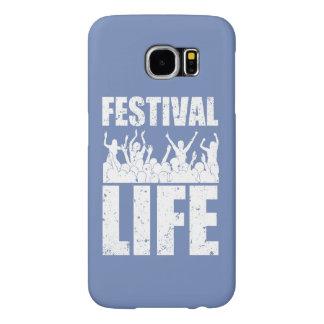 New FESTIVAL LIFE (wht) Samsung Galaxy S6 Cases