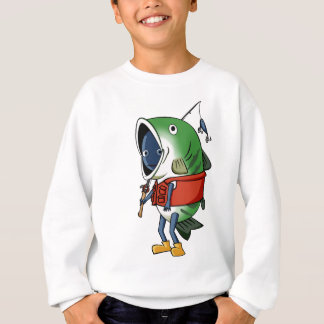 New fisherman English story Kinugawa Tochigi Sweatshirt
