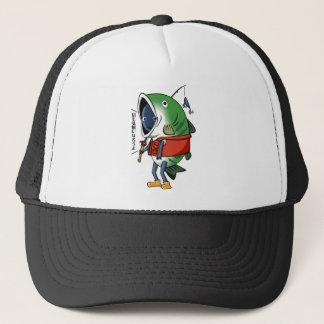 New fisherman English story Kinugawa Tochigi Trucker Hat