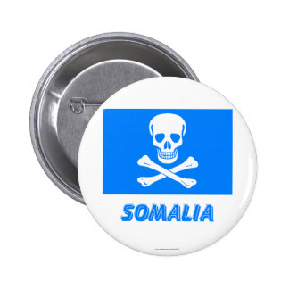 New Flag of Somalia (This is a joke!) 6 Cm Round Badge