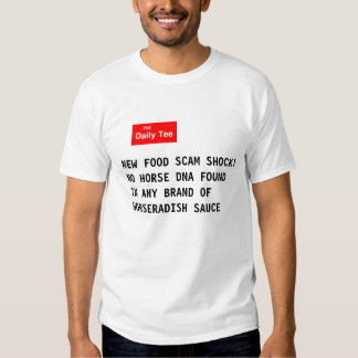 New Food Scam Shock T-shirt