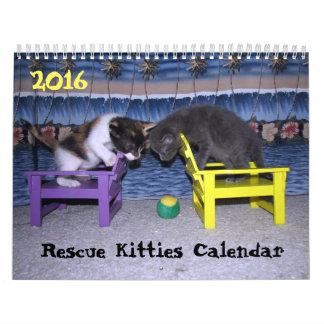 *****NEW for 2016!!! ***** Rescue Kitties Calendar