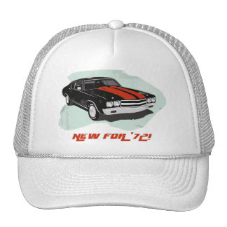 New For '72! Cap