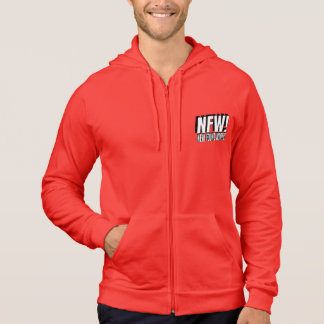 NEW FOUND WORTH! X AMERICAN APPAREL ZIP UP HOODIE