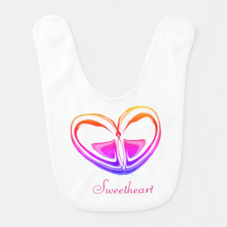 New fount Girl Lätzchen Bib