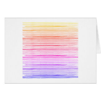 New : Fresh rainbow papercard in shop Card
