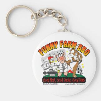 ***NEW***Funny Farm BBQ Key Chain