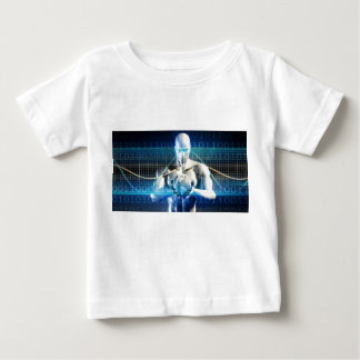 New Future Technology within Palm of Your Hand Baby T-Shirt