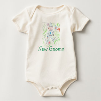 New Gnome Baby Bodysuit