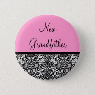 New Grandfather 6 Cm Round Badge