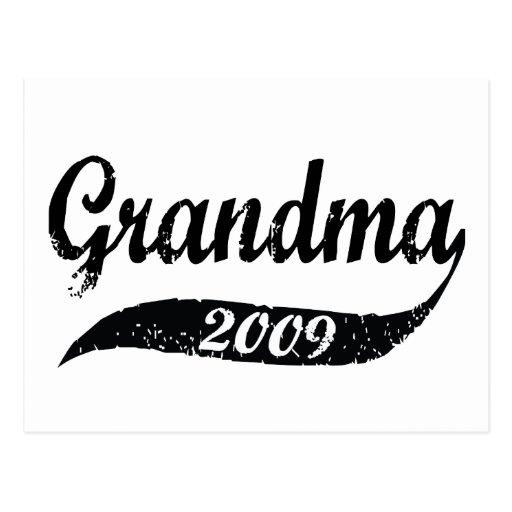New Grandma 2009 Post Cards