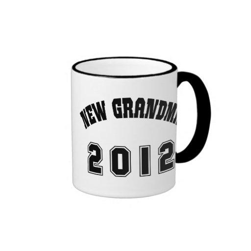 New Grandma 2012 Coffee Mugs