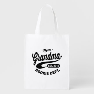 New Grandma 2016 Reusable Grocery Bag