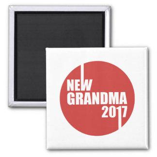 New Grandma 2017 Magnet