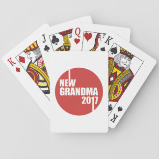 New Grandma 2017 Playing Cards