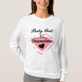 New Grandma Baby Girl Tshirts and Gifts