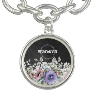 New Grandma - Charm Bracelet