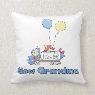 New Grandma Truck It's a Boy Gifts Throw Pillow