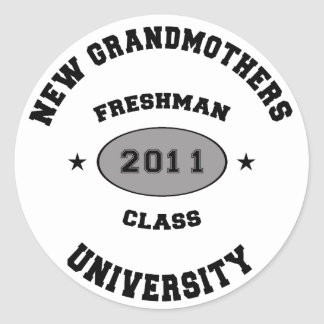 New Grandmother 2011 Round Stickers