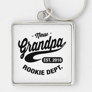 New Grandpa 2016 Key Ring