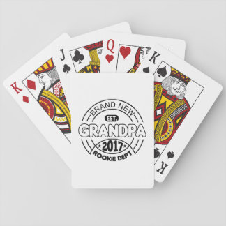 New Grandpa 2017 Playing Cards