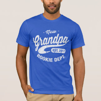 New Grandpa 2017 T-Shirt