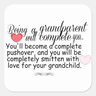 New Grandparents Square Sticker