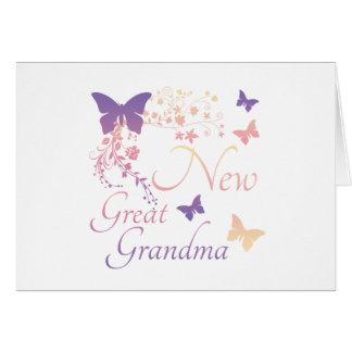 New Great Grandma Note Card